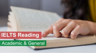 IELTS Reading - Academic and General
