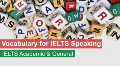 Essential Vocabulary to Crack IELTS Speaking – FREE