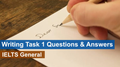 IELTS Writing Task-1 Questions