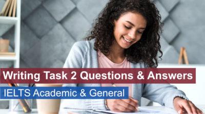 IELTS Writing Task 2 Questions